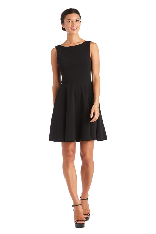 Morgan & Co. Short Skater Dress