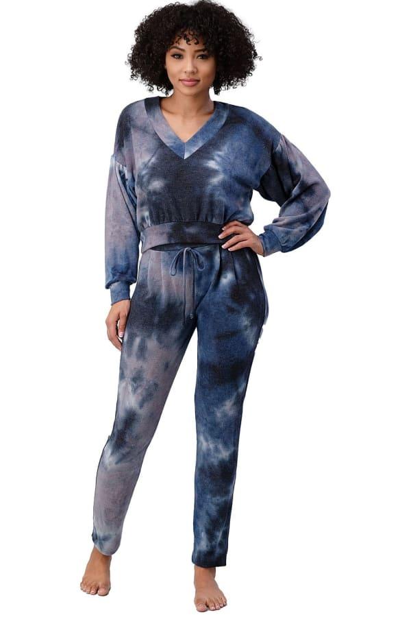 Tie Dye Cozy Knit Loungewear Set