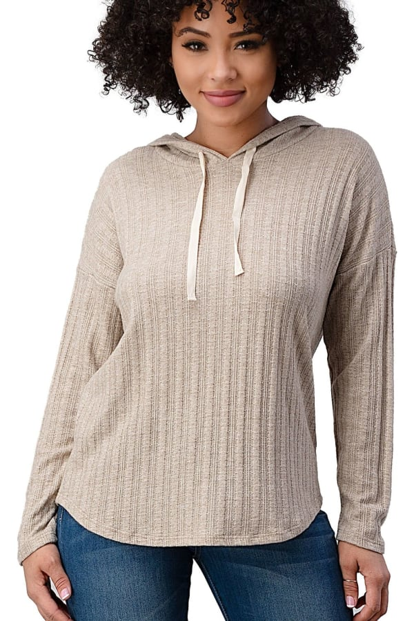 Hooded Sweater Top