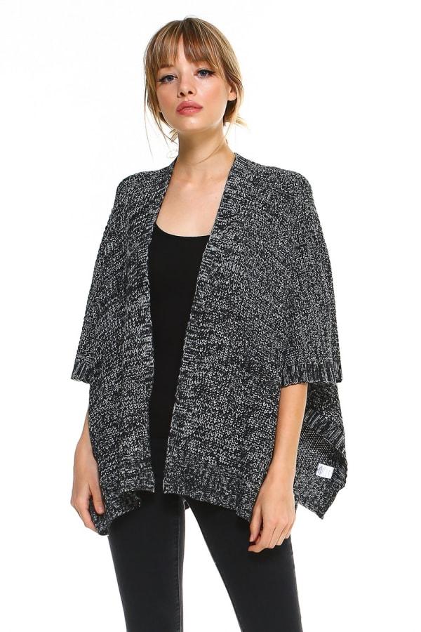 Marled Sweater Cardigan