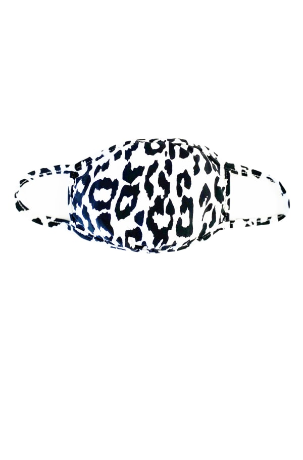 Billy T Face Cover - Animal Print - Front