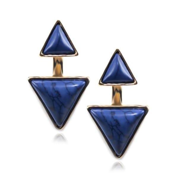Gypsy Marble Stone Earrings