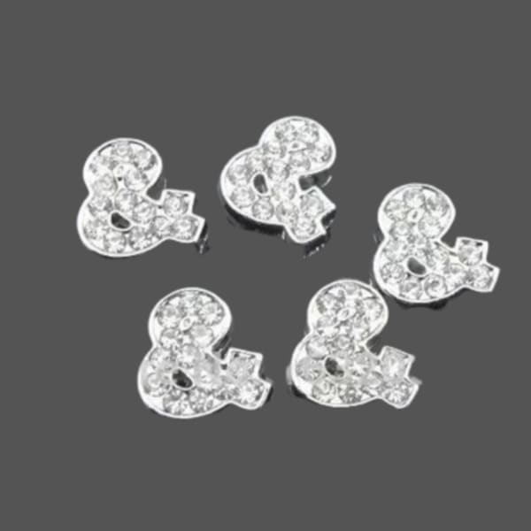 Pave Ampersand - Silver