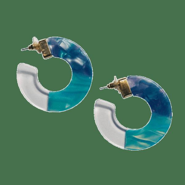 Eva Blue Earrings