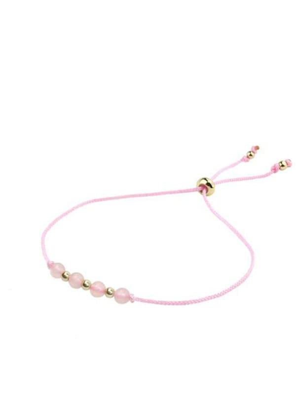14K Gold Libra Bracelet - Gold - Front