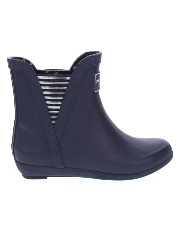 Piccadilly Rain Boots - Navy - Front