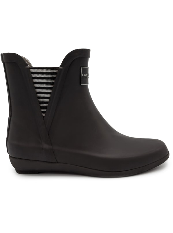 Piccadilly Rain Boots - Black - Front