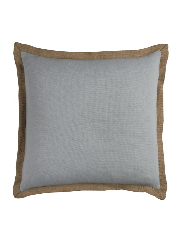 Light Blue Poly Filled Throw Pillow - Blue - Front