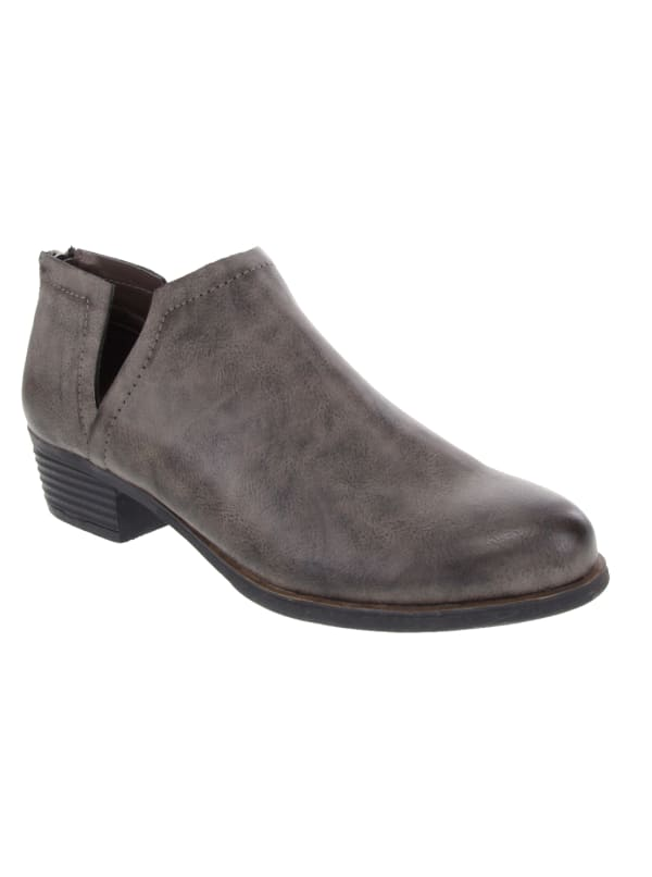 Tessa Ankle Shoe Boot - Grey Burnished - Front
