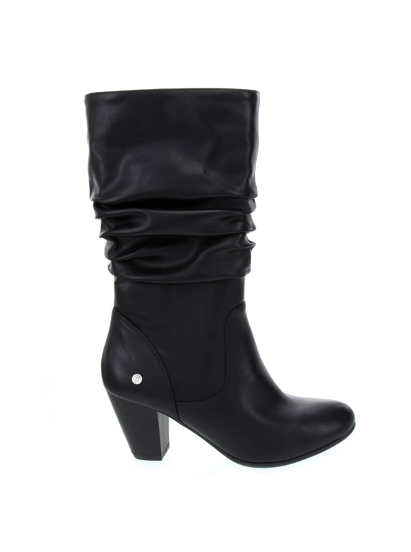 Graham Boots - Black Smooth - Front