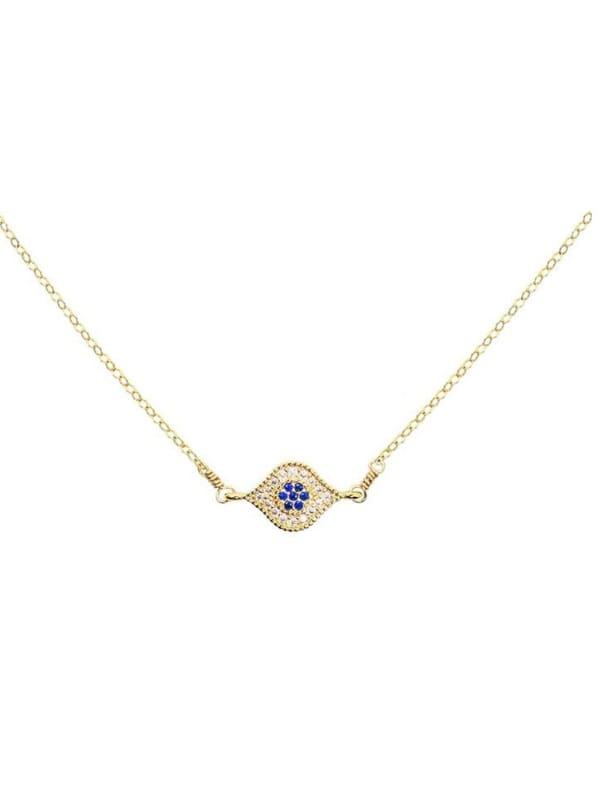 Evil Eye Necklace - Gold