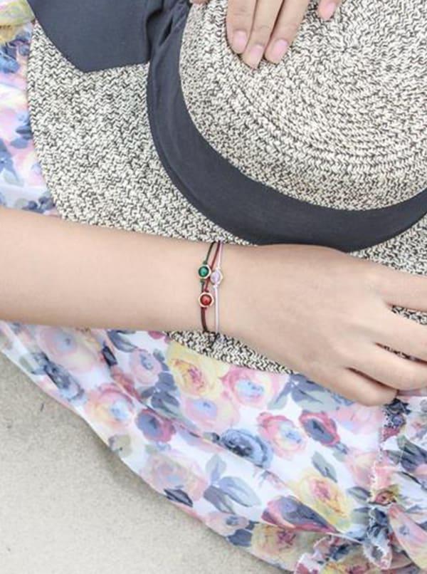 Positive Energy Bracelet - Gold - Front