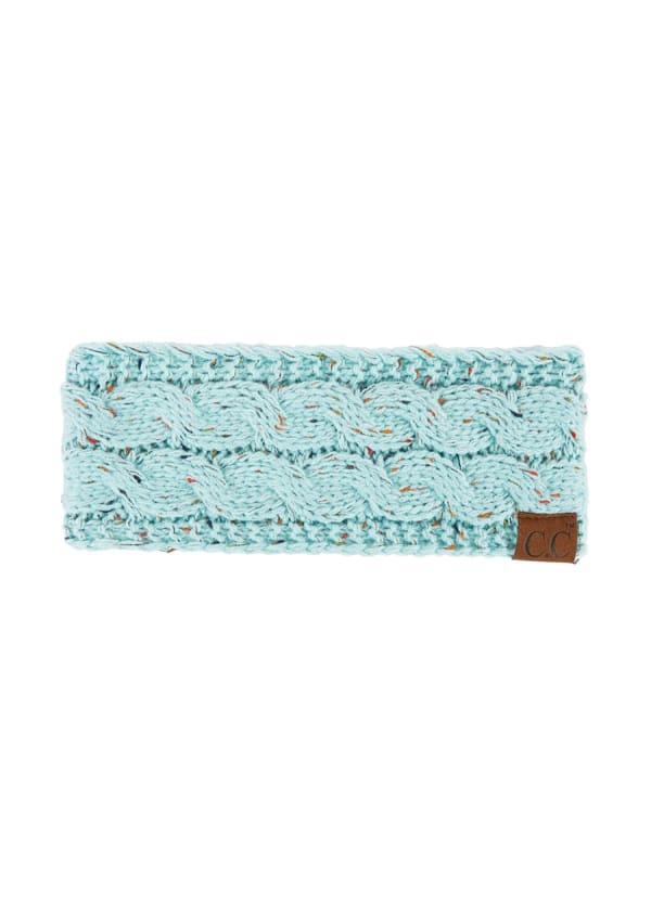 CC® Confetti Head Wrap - Mint - Front