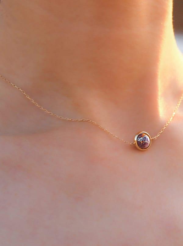 14K Gold Filled Neptune Necklace