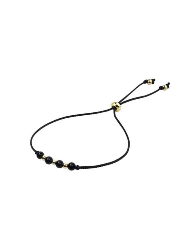 14K Gold Leo Bracelet - Gold - Front