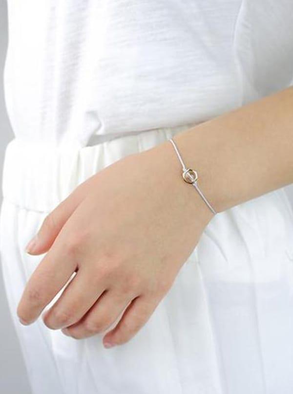 Clear Mind Bracelet - Gold - Front