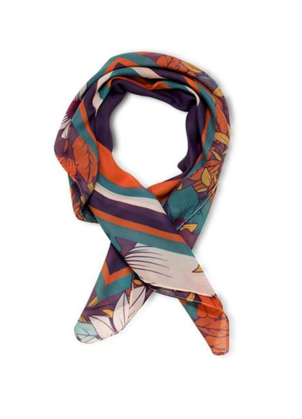 Lia Scarf - Orange - Front
