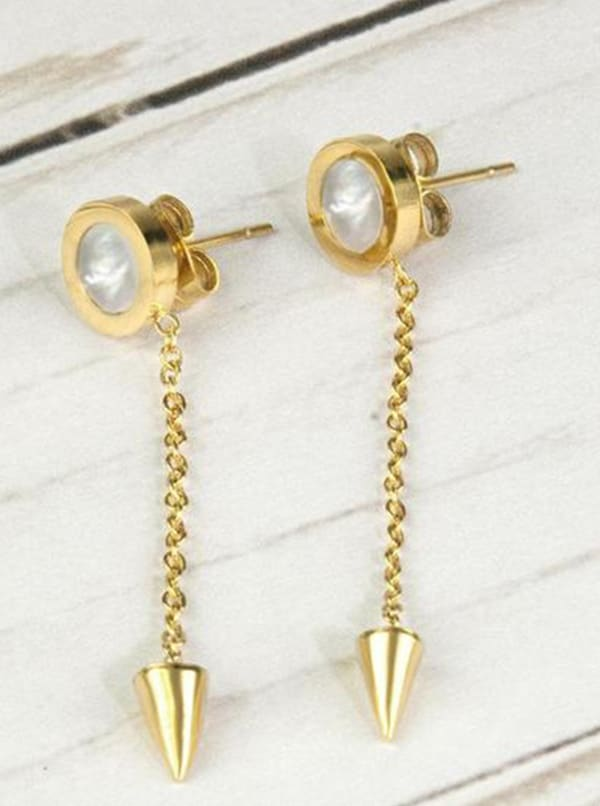 Gold Plated - Going Earrings