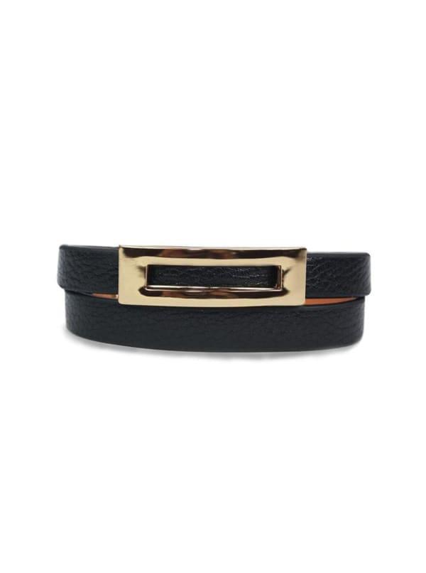 Buckled Leather Bracelet