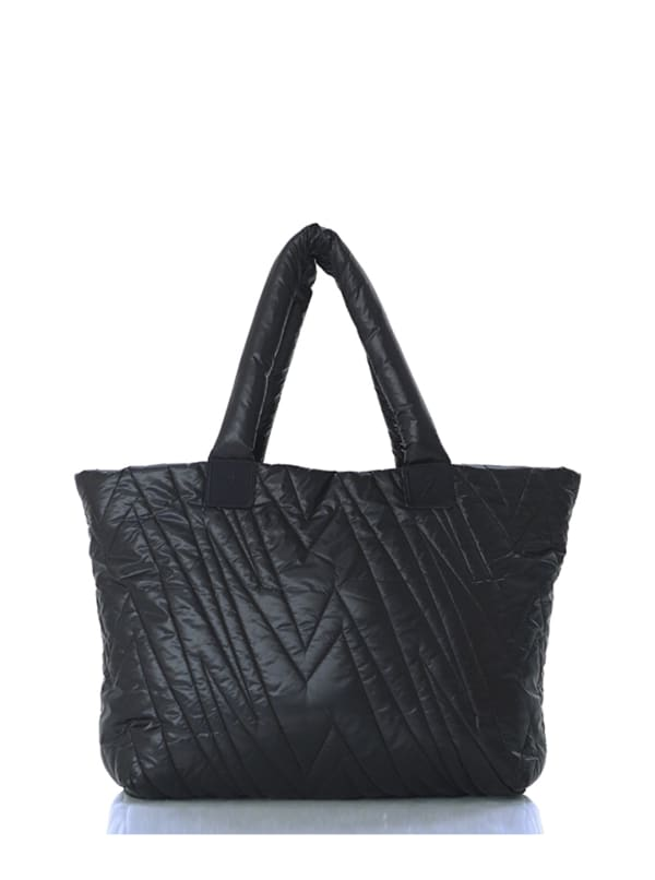 Ultra Light Tote - Black - Front