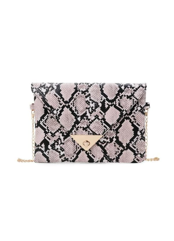 Adrian Clutch - Rose - Front