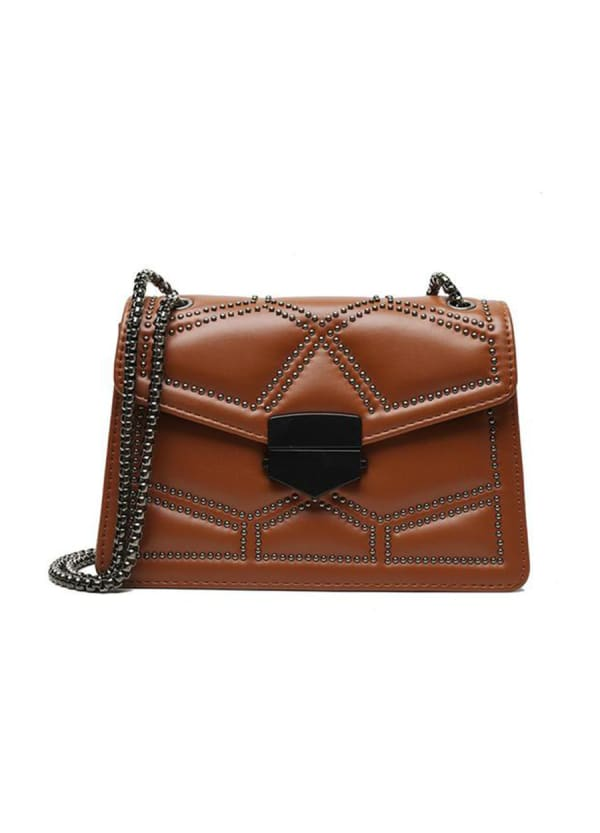 Nany Shoulder Bag - Caramel - Front