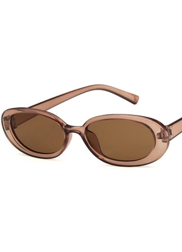 Perky Sunglasses with Case - Smoked - Front