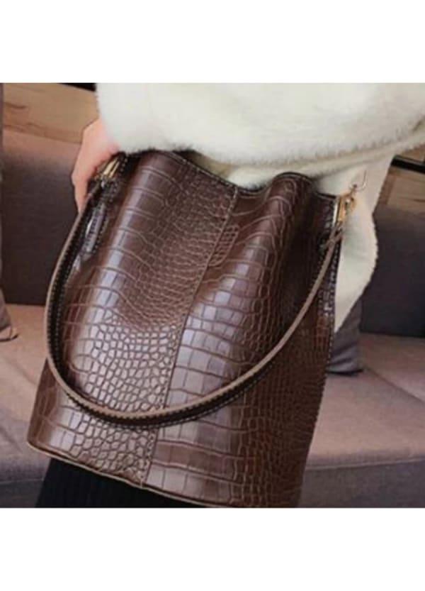Blake Vegan Leather Shoulder Bag