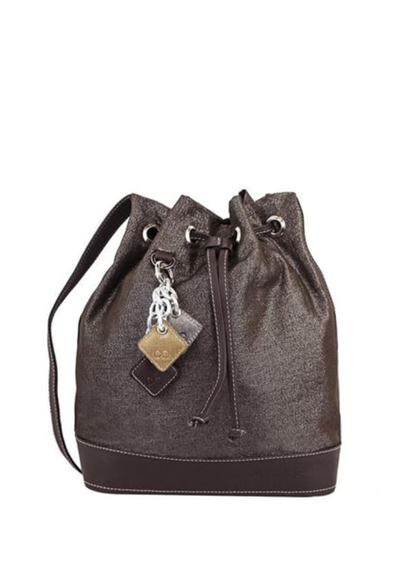 Lola Pull Bag - Chocolate - Front