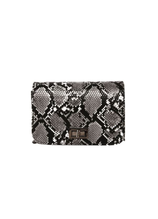 Alice Clutch - Grey - Front
