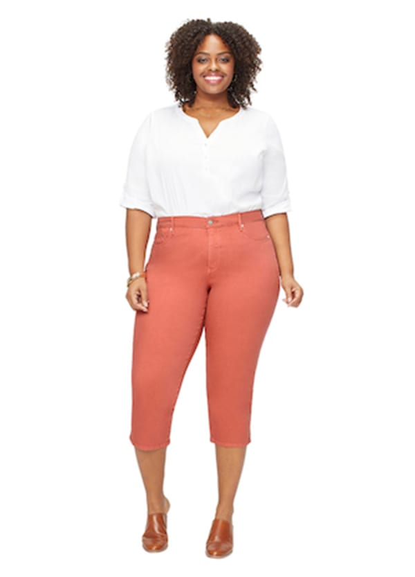 NYDJ Capri Pants with Side Slits