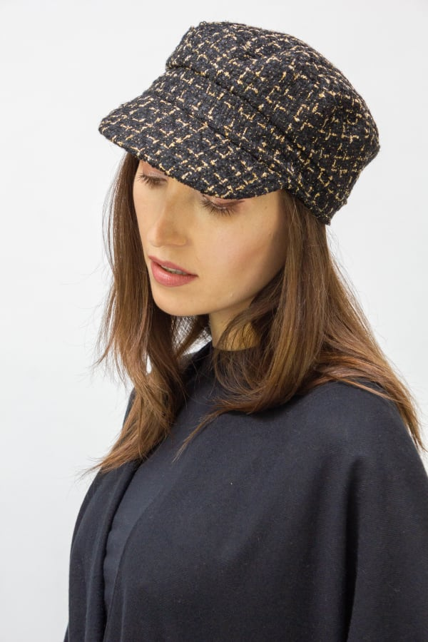 Cadet Fall Hat - Black - Front