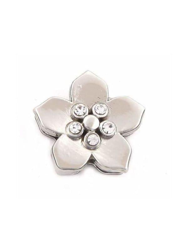 5 Stone Flower Charm