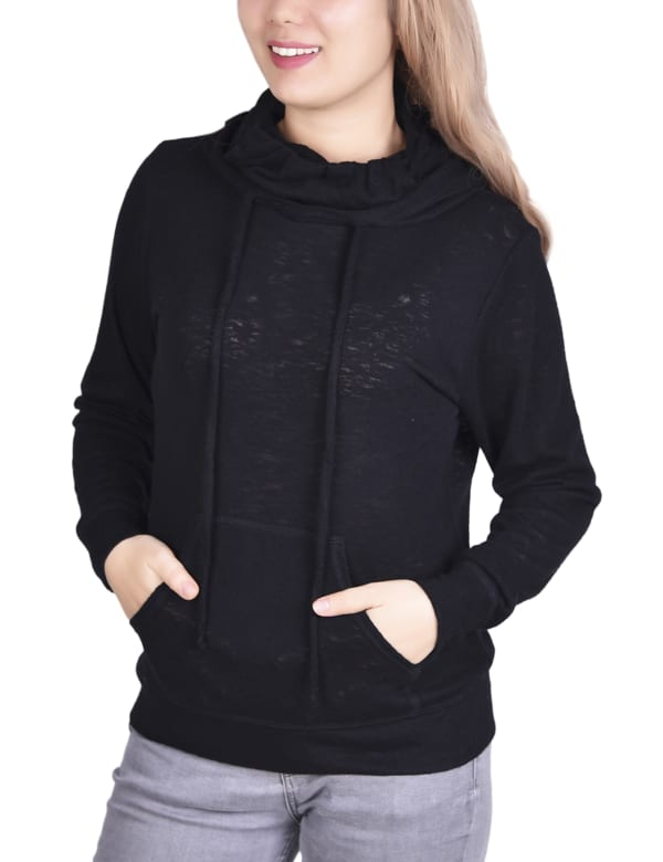 Hoodie With Mask / Gaiter Inset