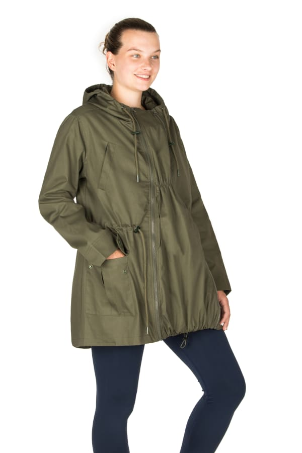 Modern Eternity Lara Maternity 3 in 1 Military Style Jacket
