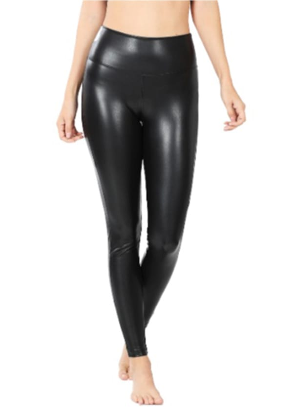 Cat Woman Tights - Black - Front