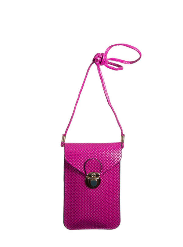 Champs Smartphone Sling Bag - Purple - Front