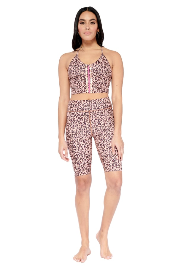 Harmless Yoga Short - Brown - Front