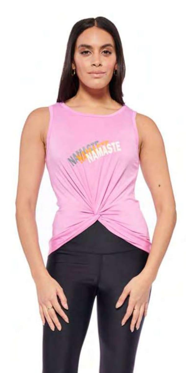 Namaste Top - Pink - Front