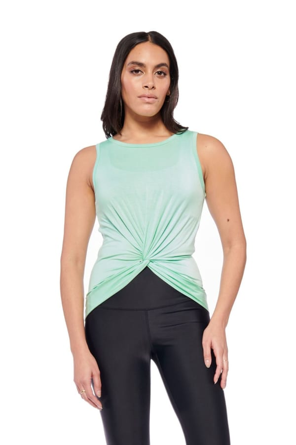 Keep It Up Tank - Mint - Front