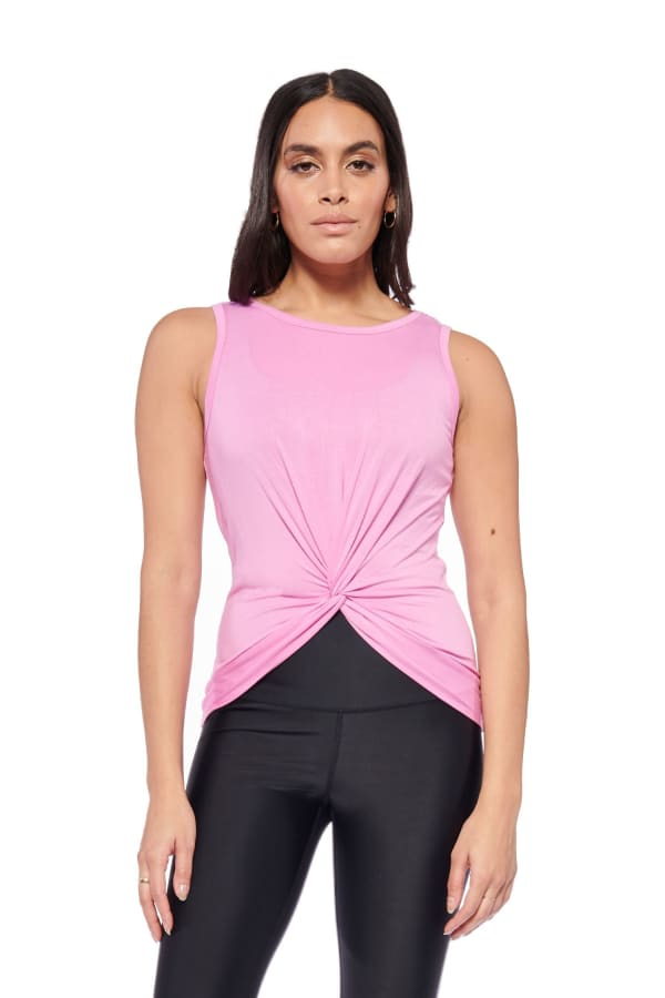 Keep It Up Tank - Pink - Front