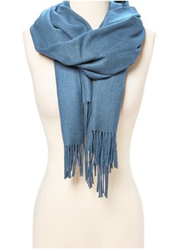 Air Blue Pashmina Scarf