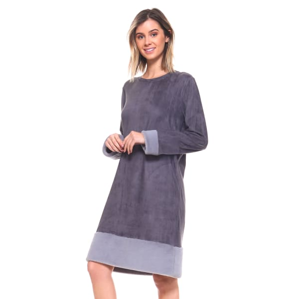Avery Fur Detailed Tunic Dress