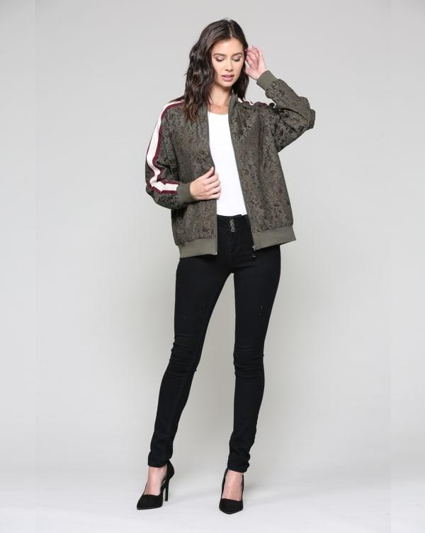 Whitlee Jacket - Olive - Front
