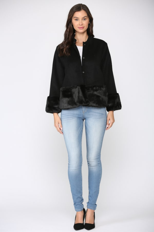 Julissa Jacket -Black - Front