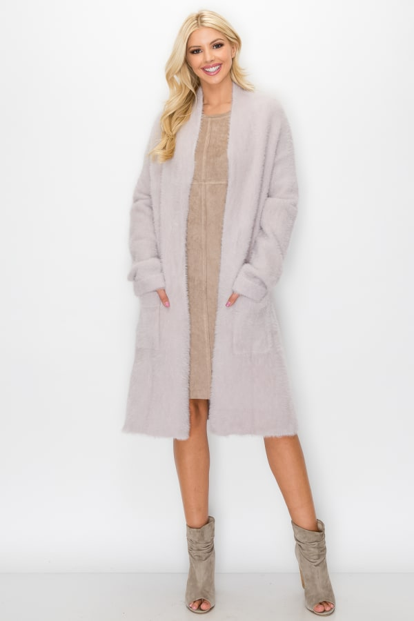 Shelby Coat - Blush - Front