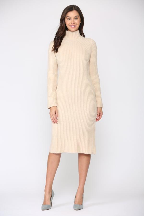 Saida Long Sleeve Midi Dress