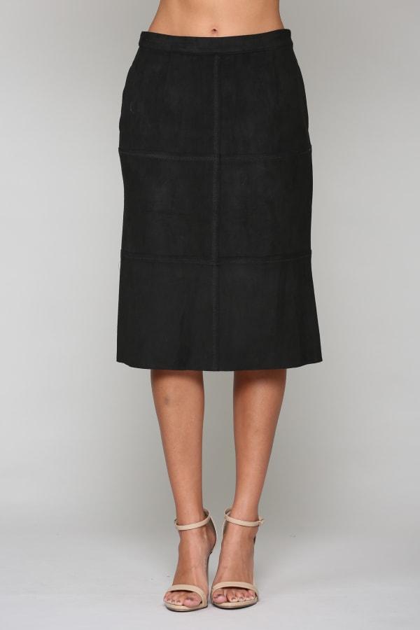 Abby Skirt - Black - Front