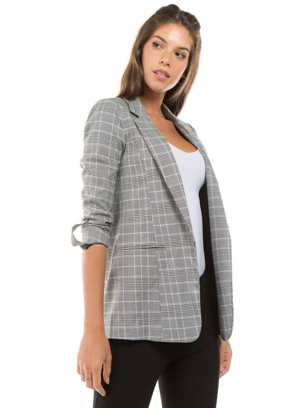 26 International Menswear Plaid Blazer
