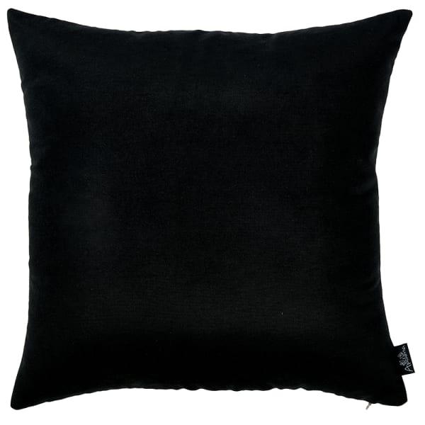 "18""X18"" Black Honey Decorative Throw Pillow Cover 2 Pcs In Set"